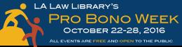 Pro Bono Week 2016