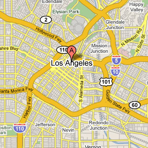 Los Angeles Map Location.Locations Hours