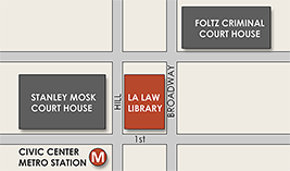 LA Law Library Map