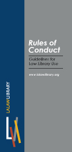 Rules of Conduct Brochure